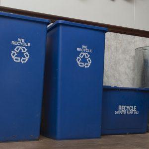 Recyclage et bac brun